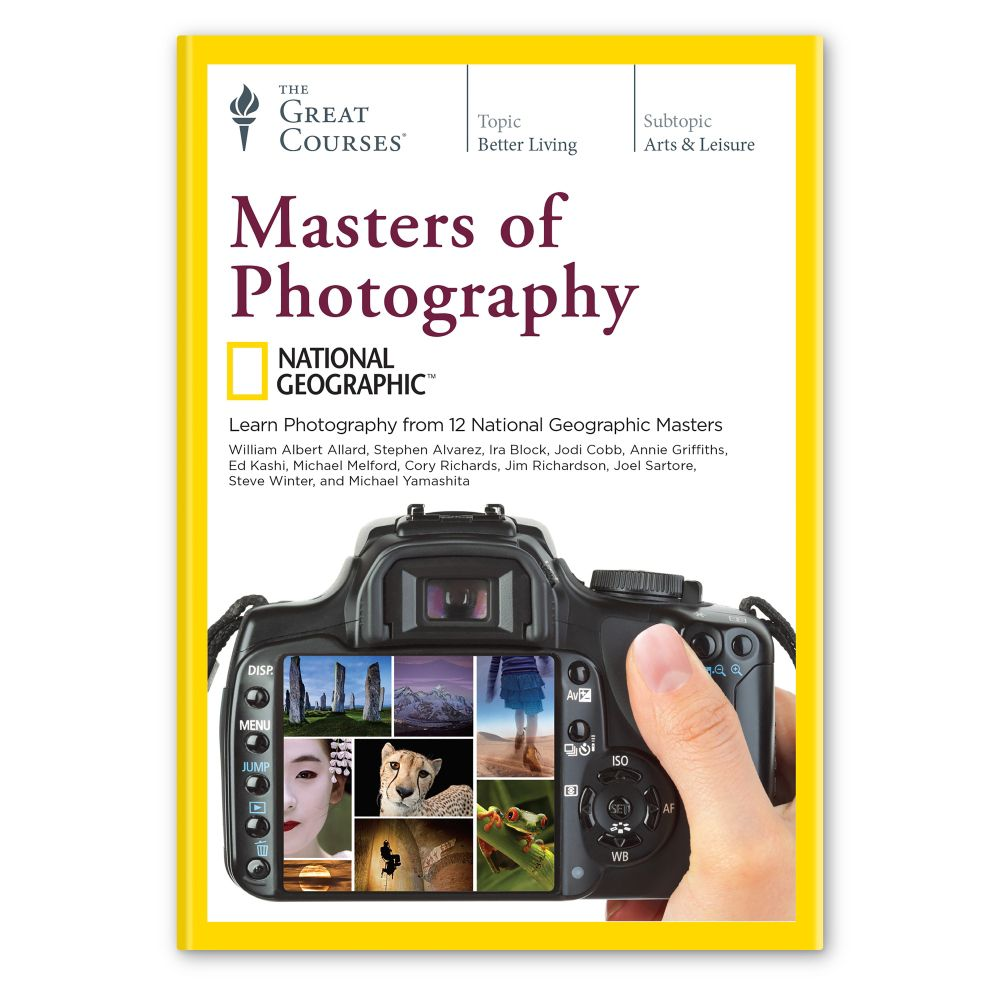 Masters of Photography Course on DVD