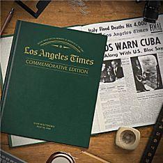 ''Remember When'' Commemorative LA Times Book