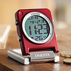 Convertible Clip Watch and Travel Alarm