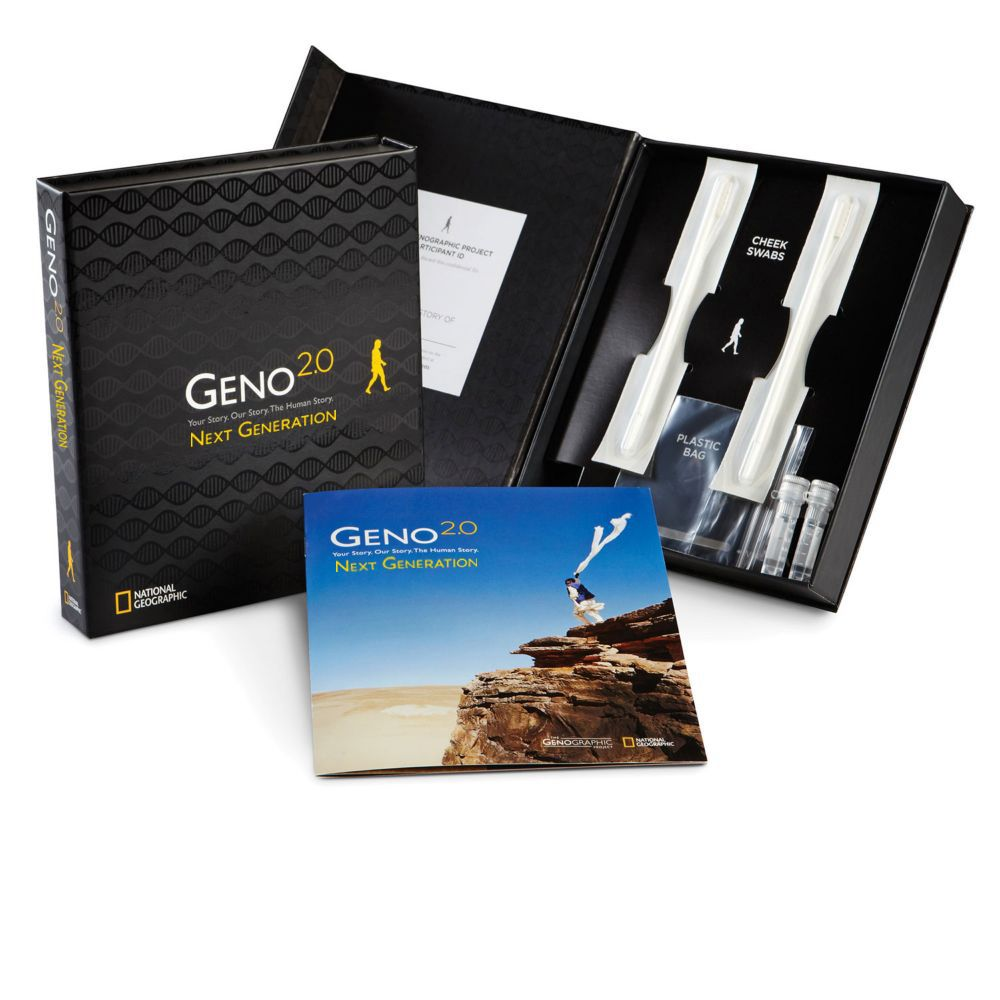 Geno 2.0 Next Generation Genographic DNA Ancestry Kit, Canadian Delivery