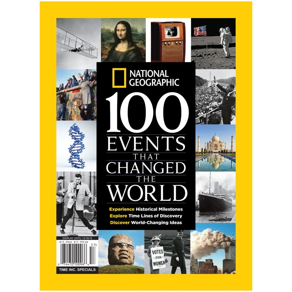 National Geographic 100 Events That Changed the World Special Issue