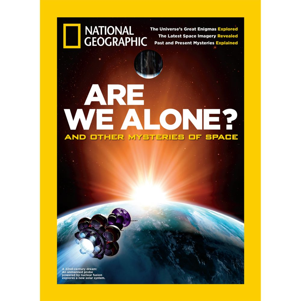 National Geographic Are We Alone? Special Issue