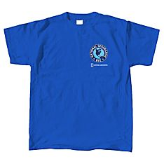 National Geographic Bee Logo Blue T-shirt