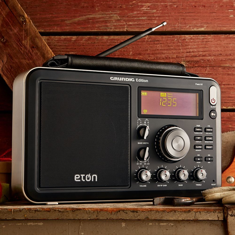 Bluetooth Shortwave AM/FM Radio