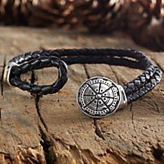 Men's Magellan Compass Bracelet
