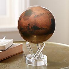 Rotating Mars Globe
