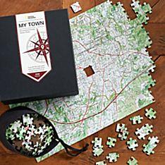 Nat Geo Keepsake Custom USGS Map Puzzle