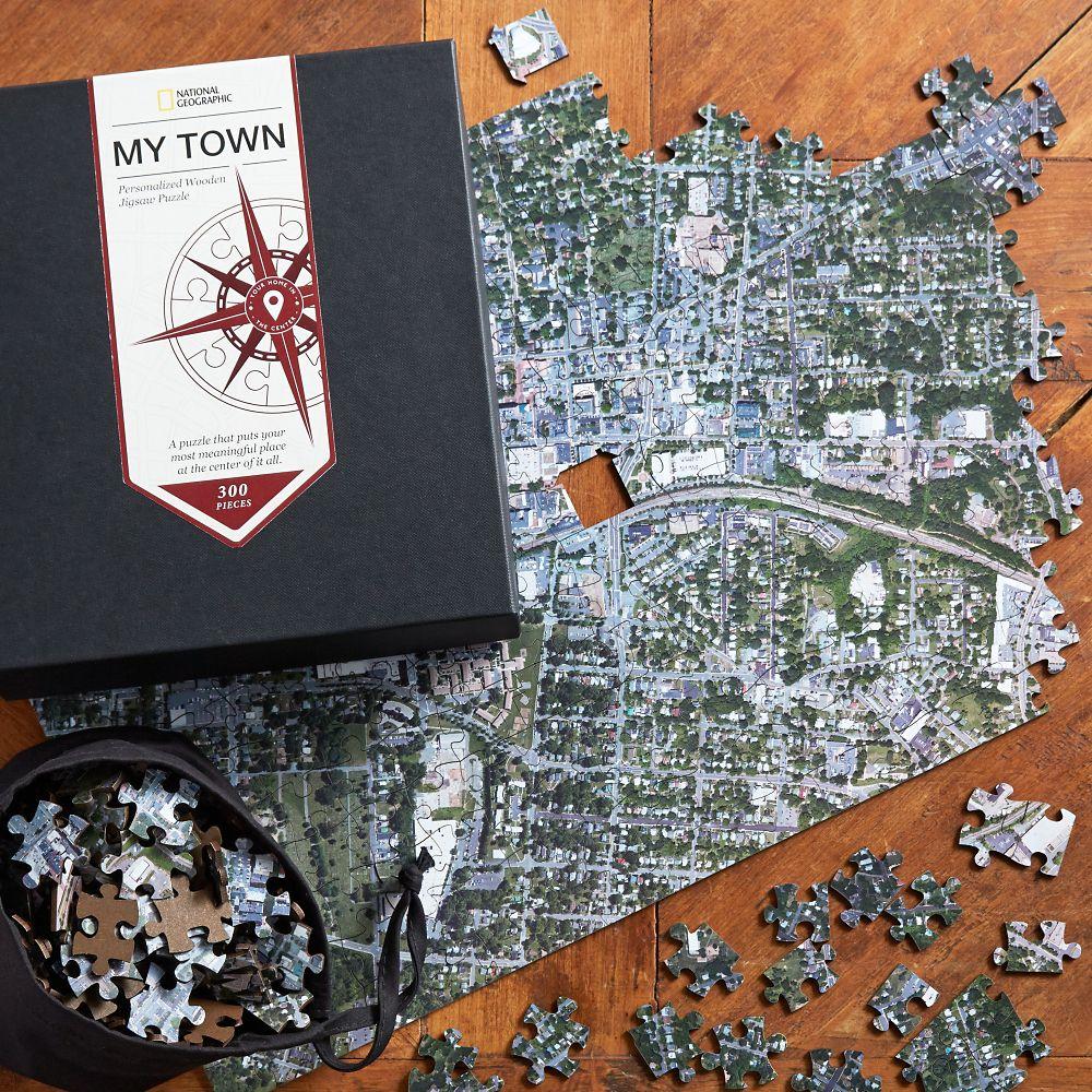 Nat Geo Keepsake Custom Aerial Puzzle