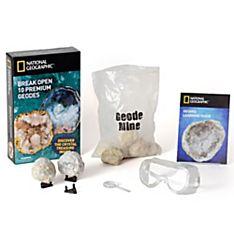 National Geographic World's Best Geode Kit - 10 Geodes