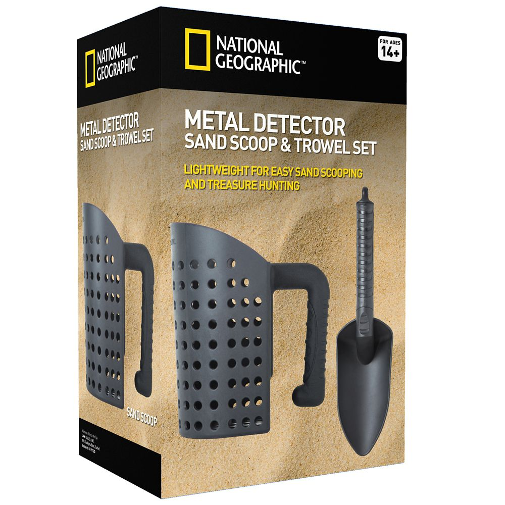 Metal Detector Sand Scoop and Trowel Tool Set