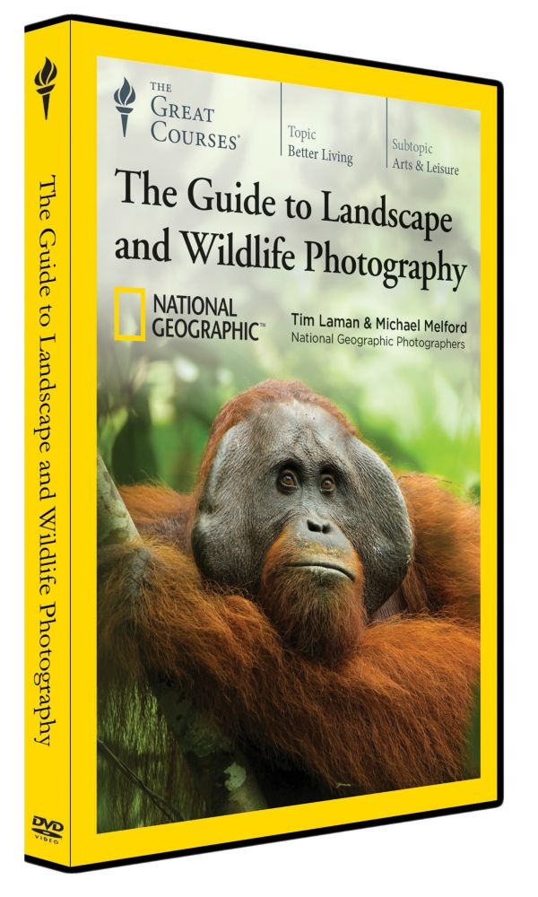 Landscape and Wildlife Photography Course on DVD
