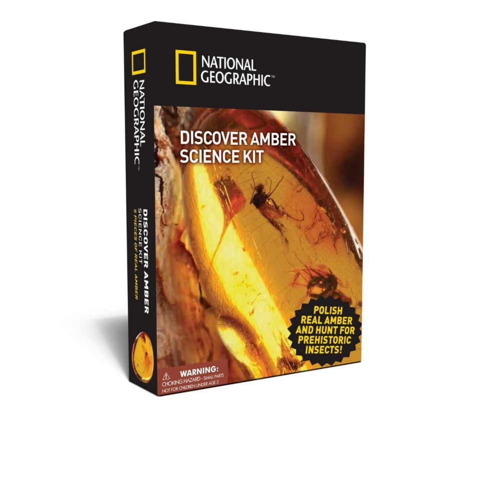 Nat Geo Discover Amber Science Kit