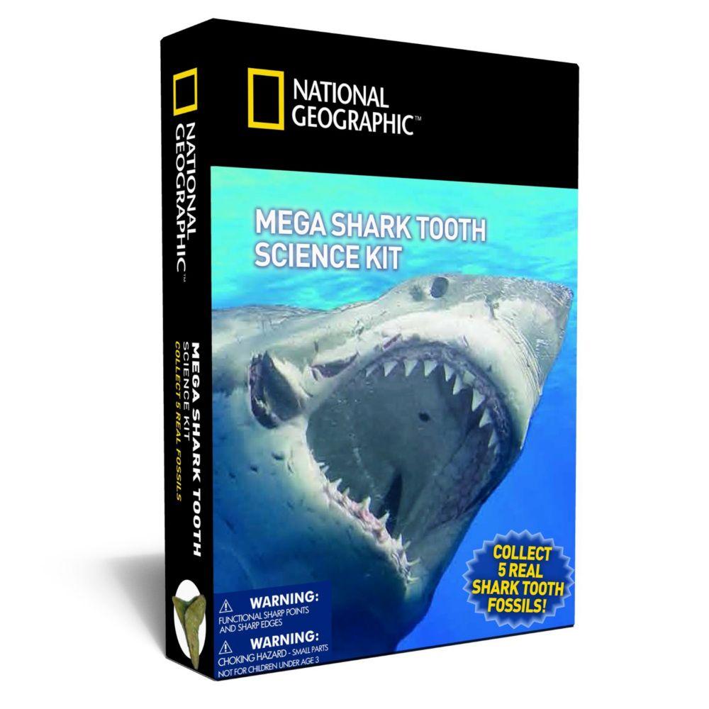 Nat Geo Mega Shark Tooth Science Kit
