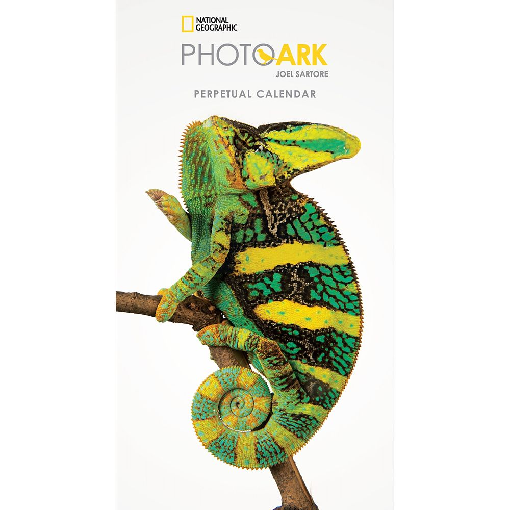 2018 National Geographic Photo Ark Perpetual Calendar