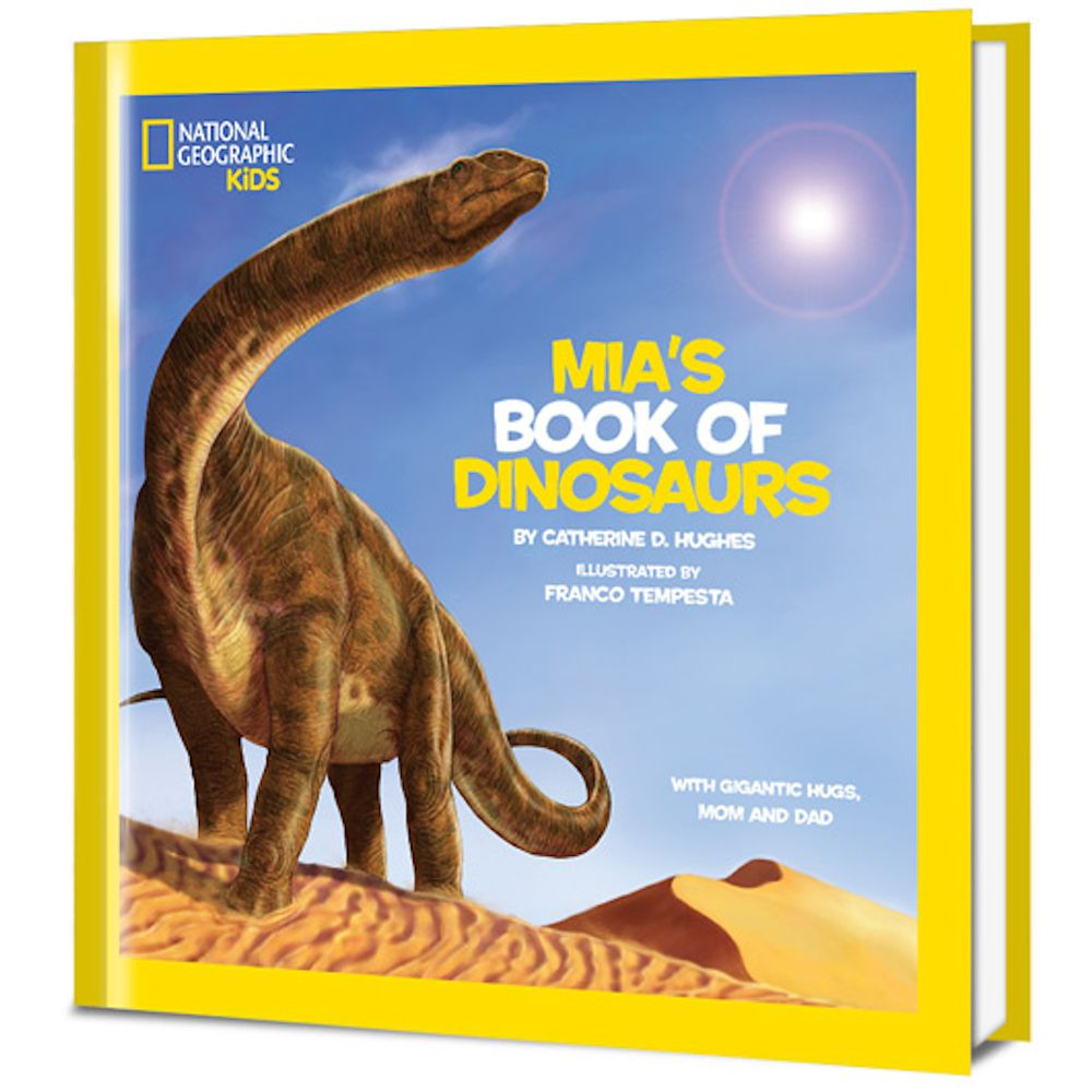 National Geographic Little Kids Book of Dinosaurs Personalized Hardcover Book