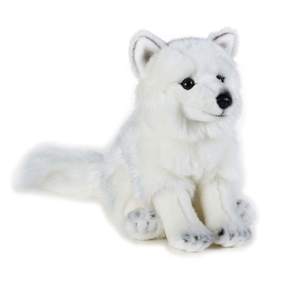 Arctic Fox Plush Toy