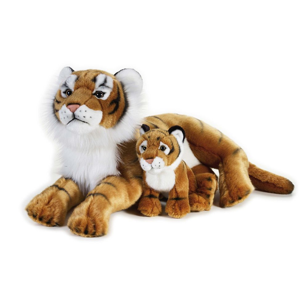 Tiger & Cub Plush Toy