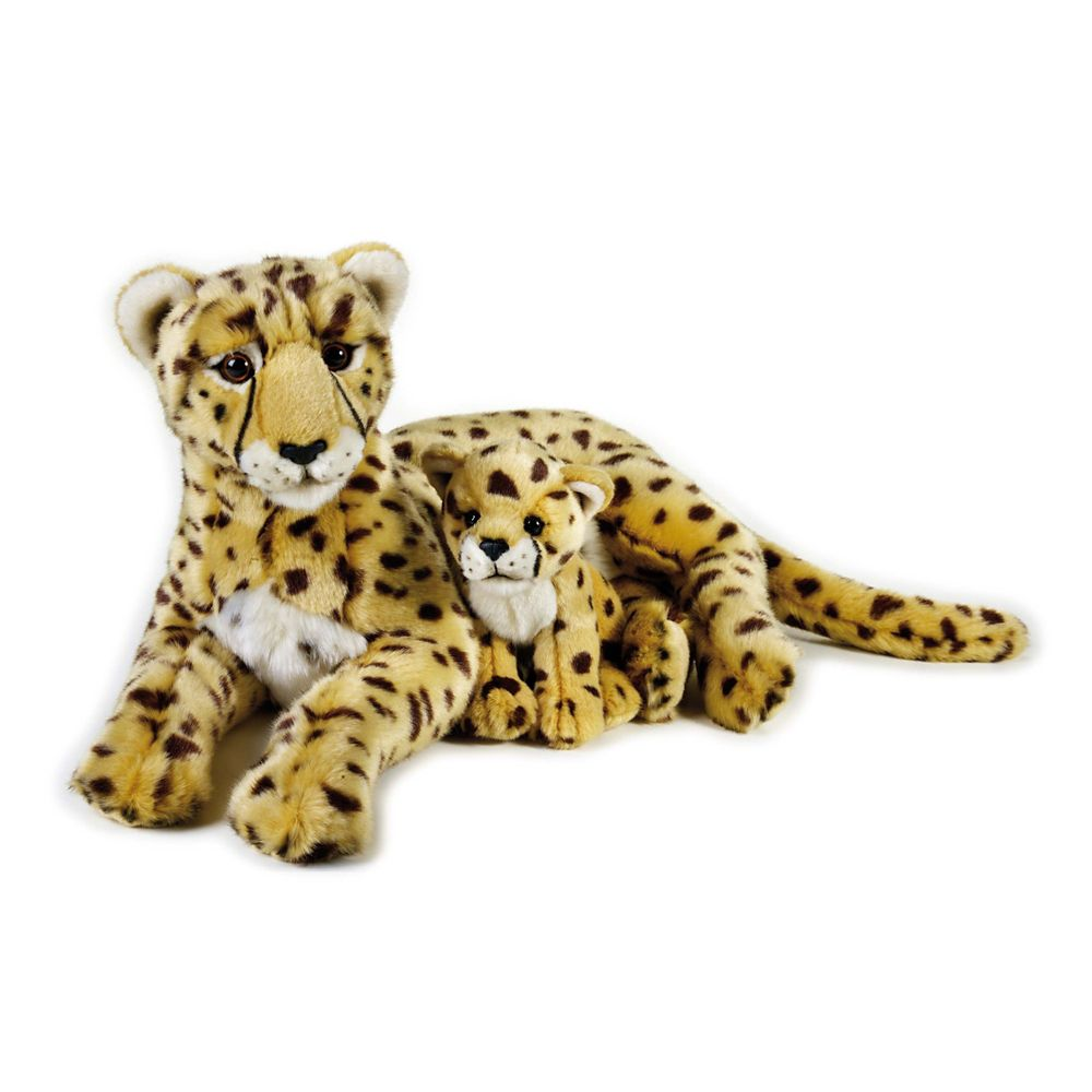 Cheetah & Cub Plush Toy