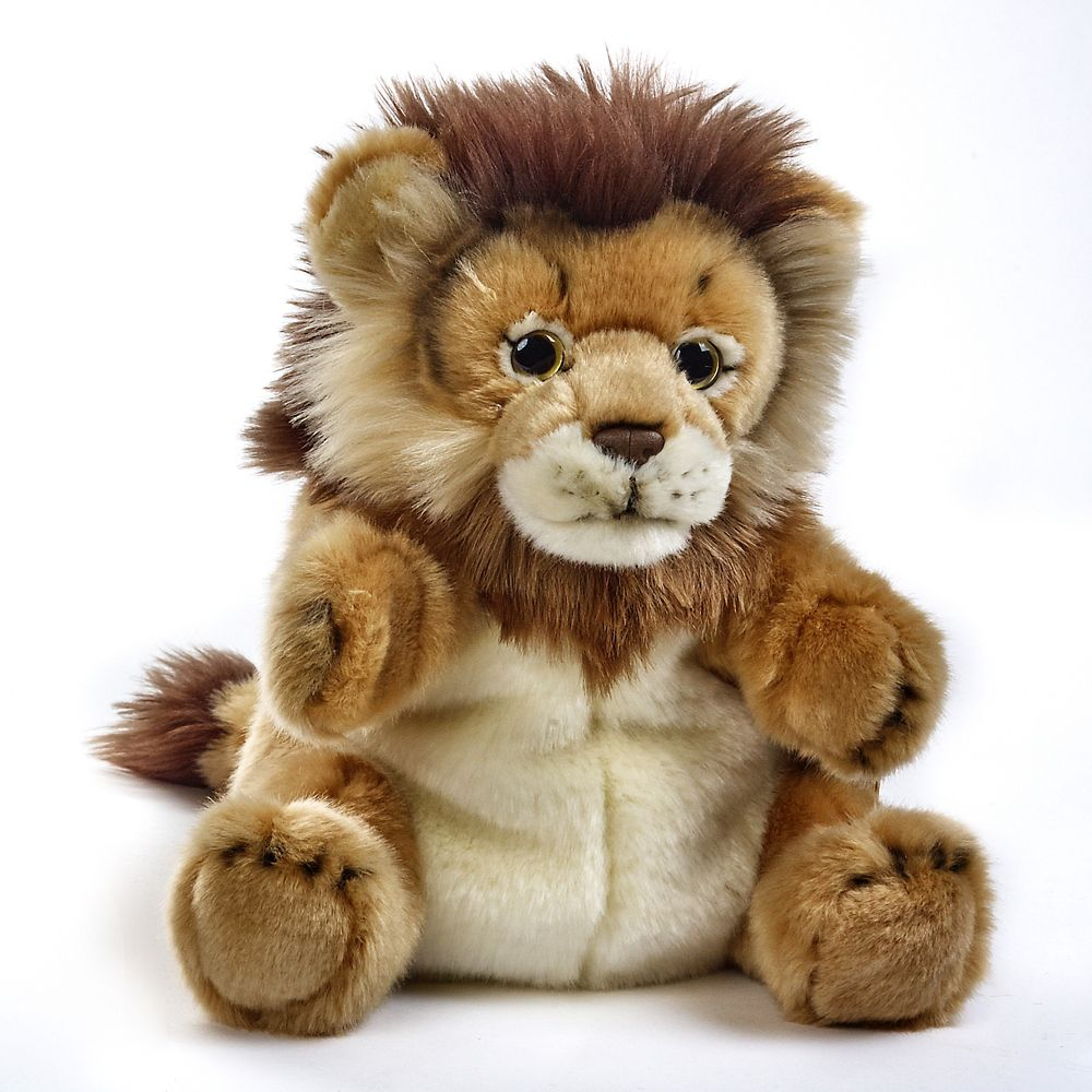 Lion Plush Hand Puppet Toy