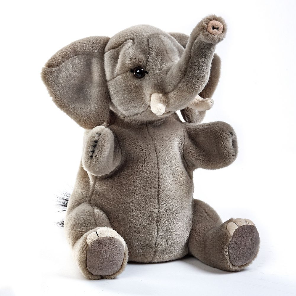 Elephant Plush Hand Puppet Toy
