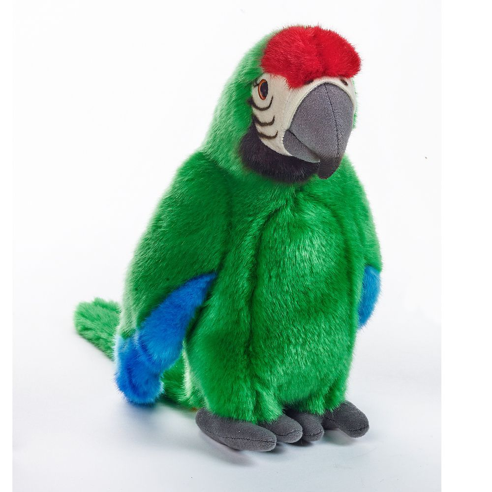 Tropical Parrot Green Plush Toy