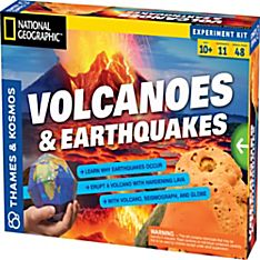 Volcanoes and Earthquakes Science Kit