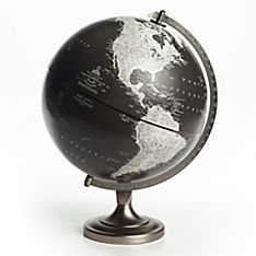 Bancroft Black and White Globe