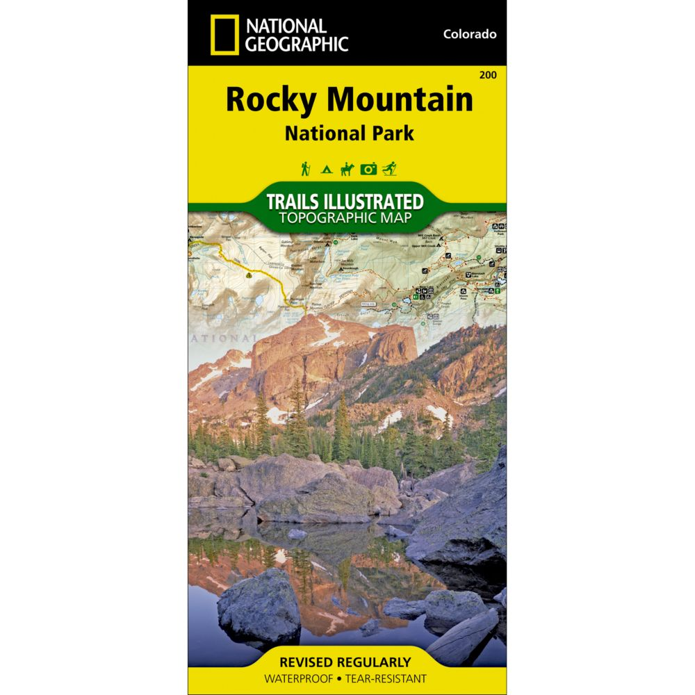 200 Rocky Mountain National Park Trail Map