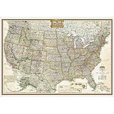 United States Executive Wall Map, Enlarged