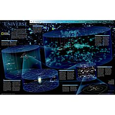 The Universe Wall Map, Laminated