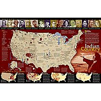 North American Indian Reference Map