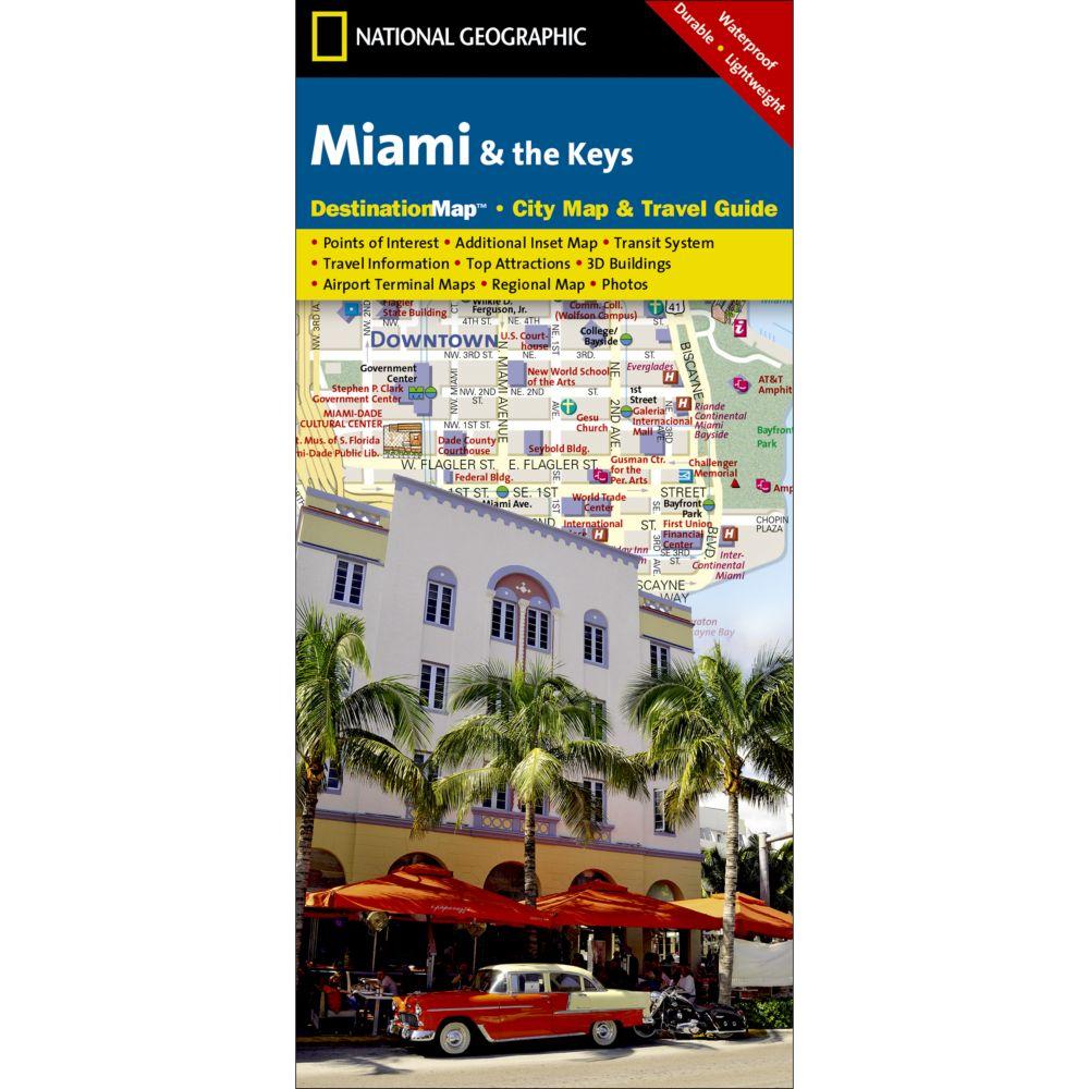 Miami & The Keys Destination City Map