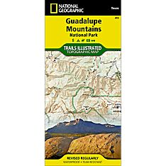 203 Guadalupe Mountains National Park Trail Map