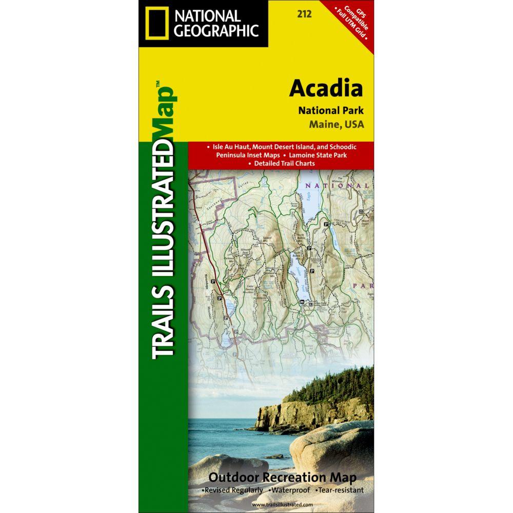 212 Acadia National Park Trail Map