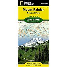 217 Mount Rainier National Park Trail Map