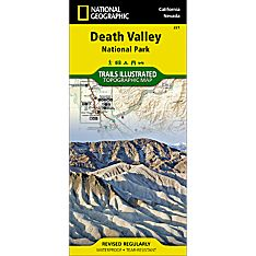 221 Death Valley National Park Trail Map