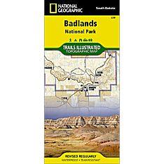 239 Badlands National Park Trail Map