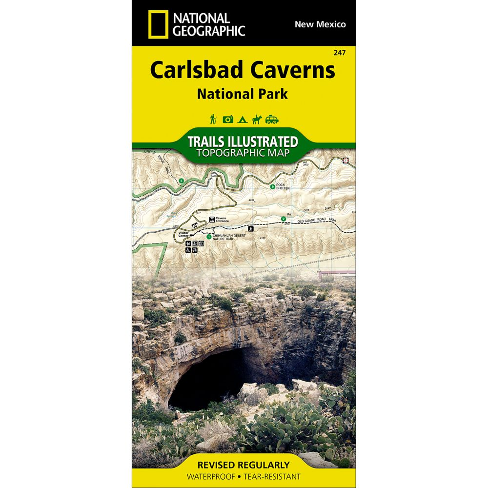 247 Carlsbad Caverns National Park Trail Map