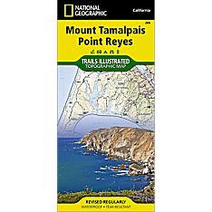 266 Mount Tamalpais, Point Reyes Trail Map