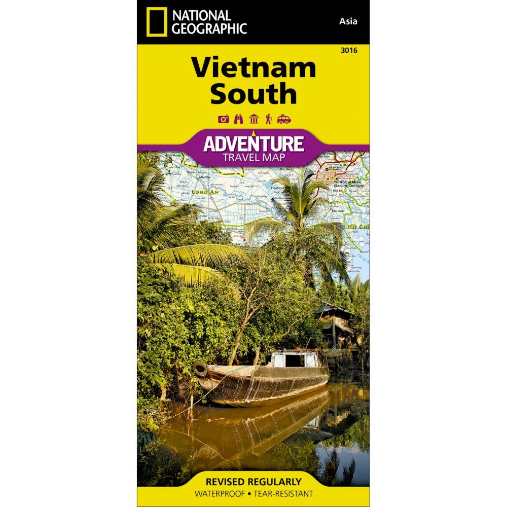 Vietnam, South Adventure Map