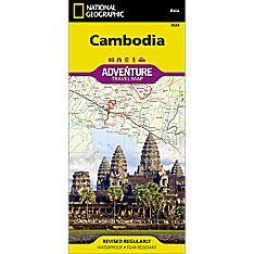Cambodia Adventure Map