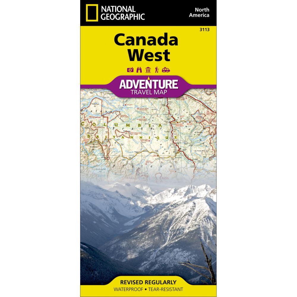 Canada West Adventure Map