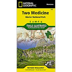 315 Two Medicine, Glacier National Park Trail Map