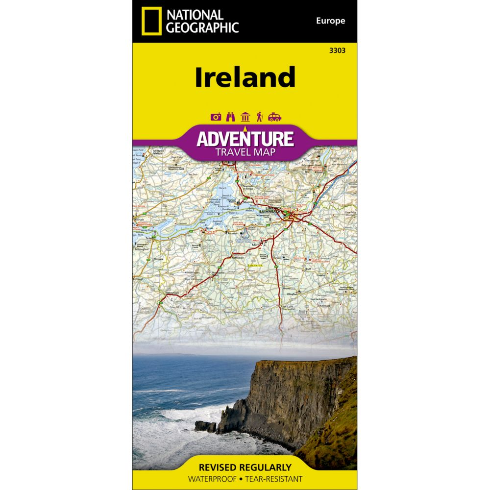 Ireland Adventure Map