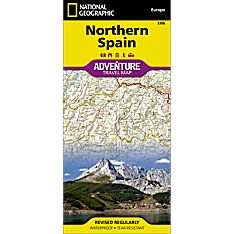 Northern Spain Adventure Map