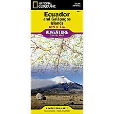Ecuador and Galapagos Islands Adventure Map