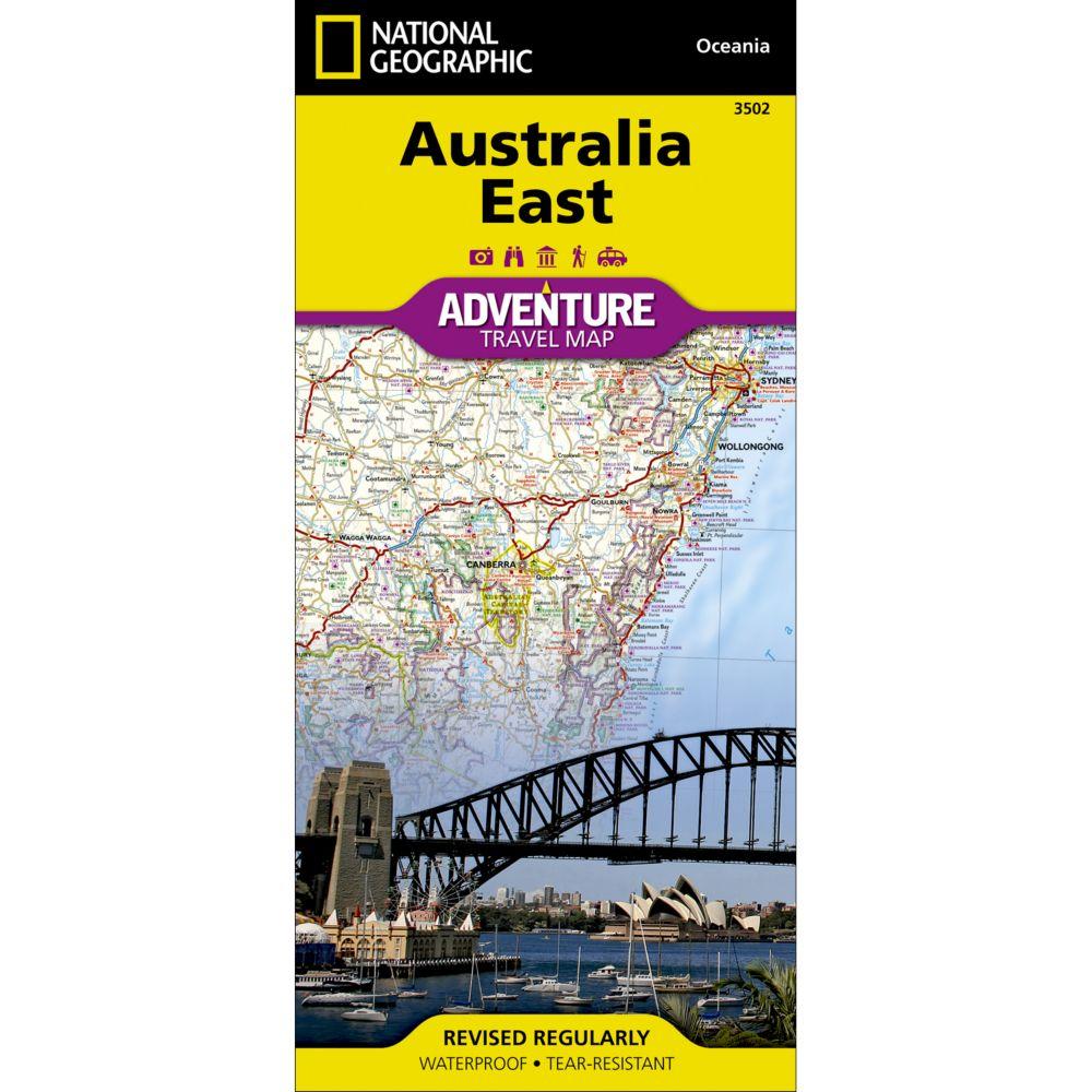 Australia East Adventure Map