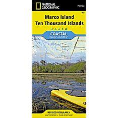 402 Marco Island, Ten Thousand Islands Trail Map