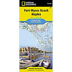 407 Fort Myers Beach, Naples Trail Map
