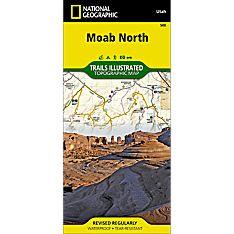 500 Moab North Trail Map